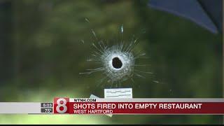 Police investigate after West Hartford restaurant struck by bullets