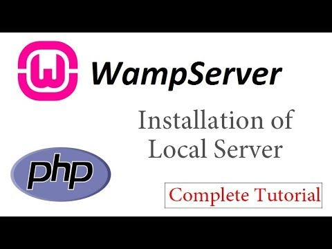 Wamp Installation on Your System    How to Setup a Local Server
