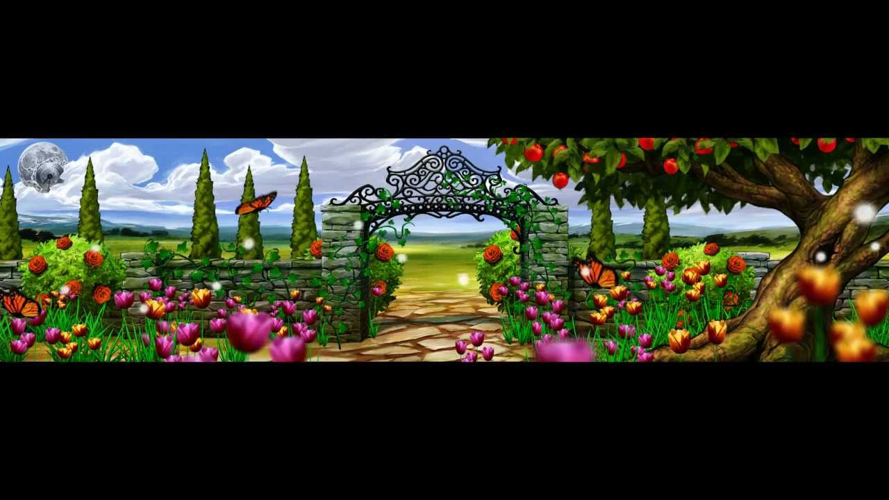 Flower garden animation