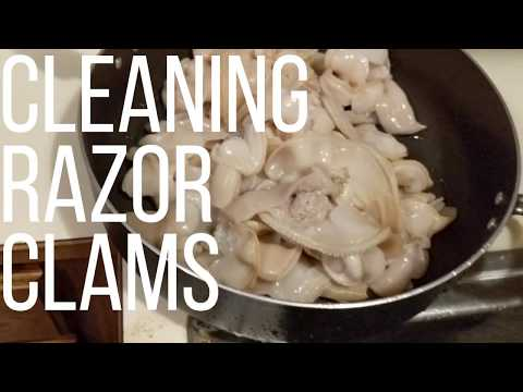 How to Clean and Prepare Razor Clams
