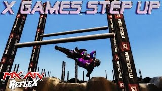 X Games Step Up   MX vs. ATV Reflex Custom Track