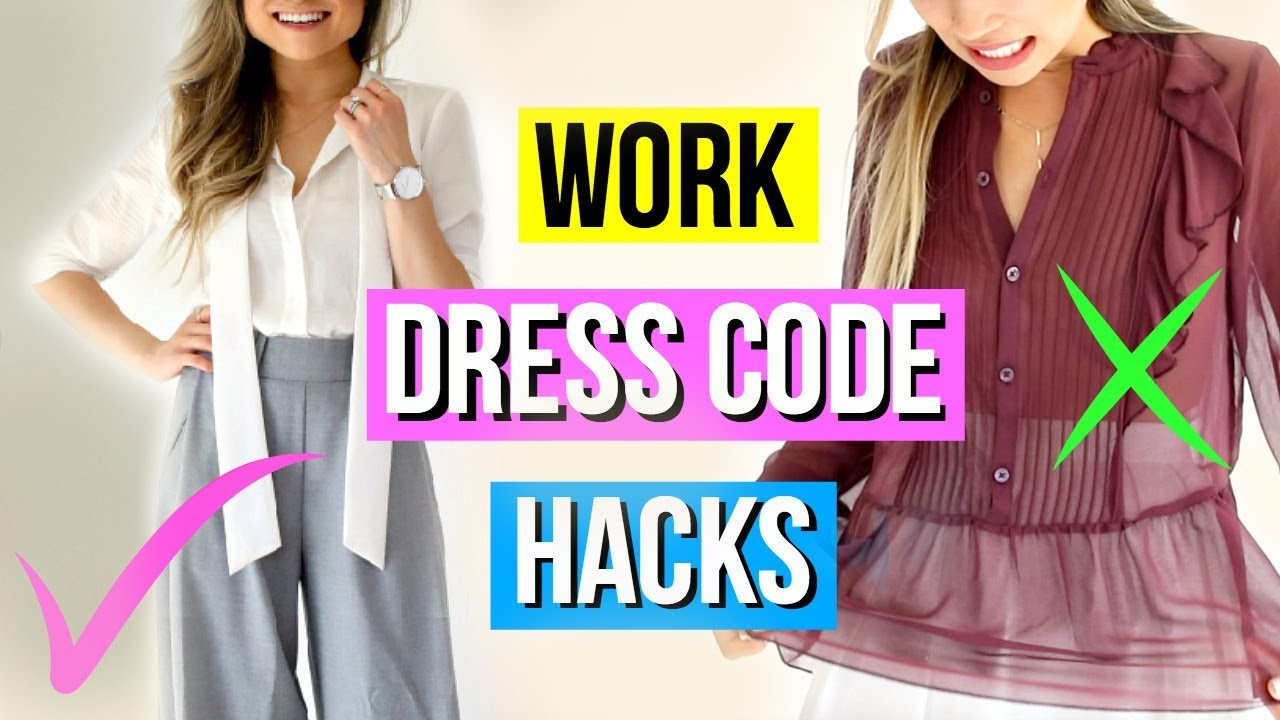 0cfe716c07a4b What to Wear to Work? 9 Modest Fashion Hacks! - YouTube