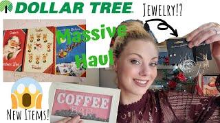 MASSIVE DOLLAR TREE HAUL | VINTAGE CHRISTMAS | NEW ITEMS!