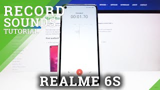 How to Switch On Sound Recorder in Realme 6s - Enable Sound Recording