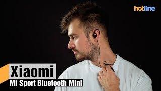 Xiaomi Mi Sport Bluetooth Mini — лучшие беспроводные наушники в бюджетном сегменте