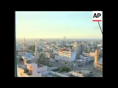 WRAP Israel Continues Air Raids, Skyline, Militant Rocket, Militant Leader Killed