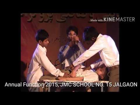 Drama (silent), std VII,2015, JALGAON MAHANAGAR PALIKA SCHOOL NO.15, JALGAON