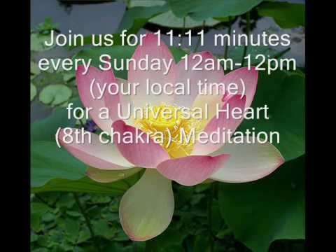 11-11 Intention Universal Heart Meditation With Jonathan & Andi Goldman