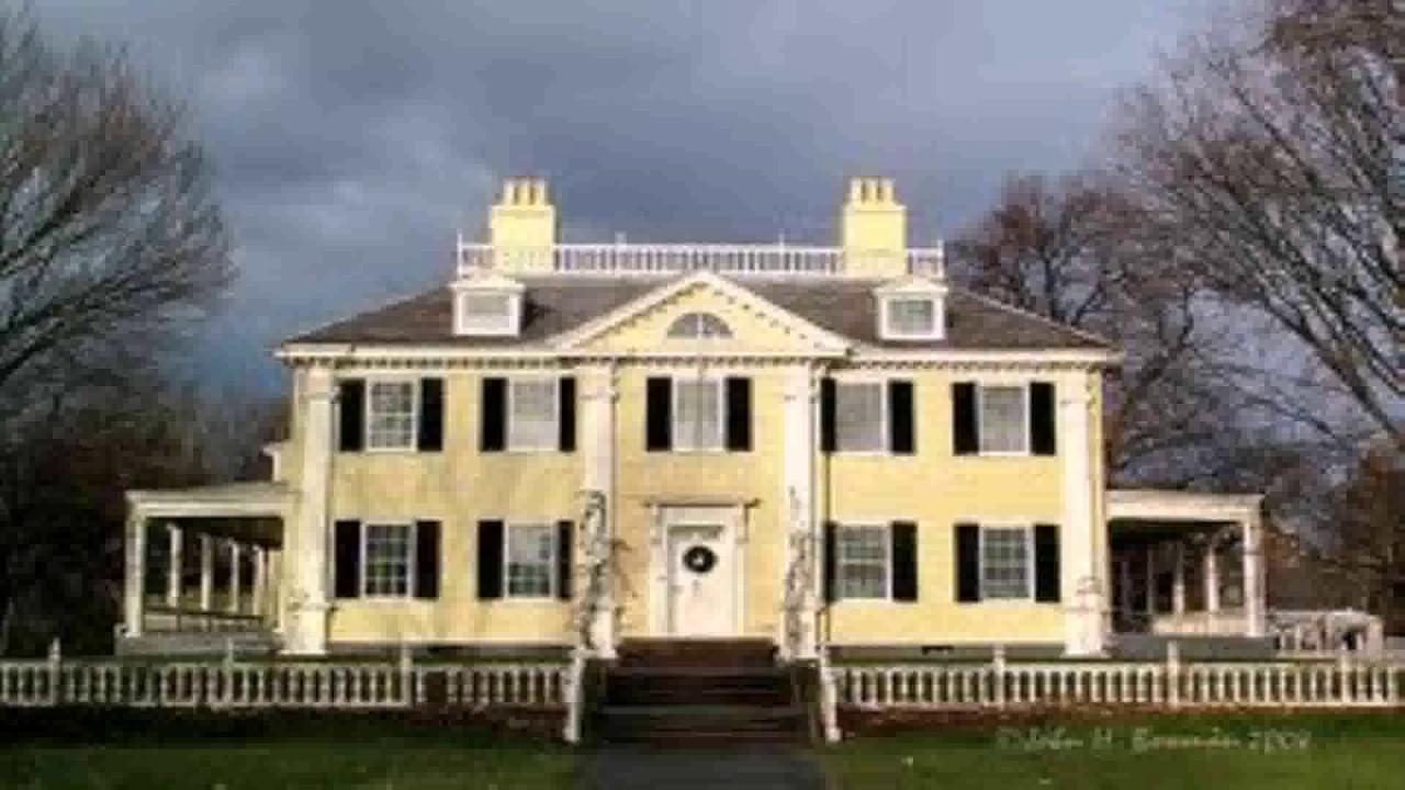 Georgian Colonial Mansion georgian colonial house style description - youtube
