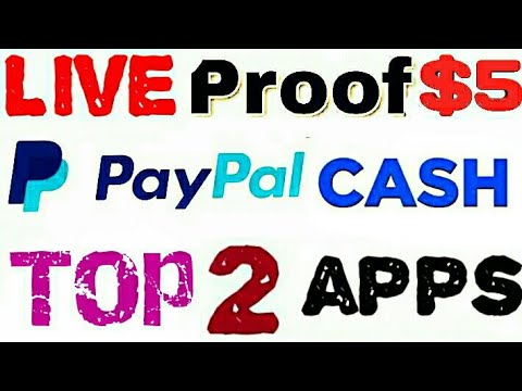 Top 2 Best PayPal Earnings Apps 2019 🔥 live payment proof