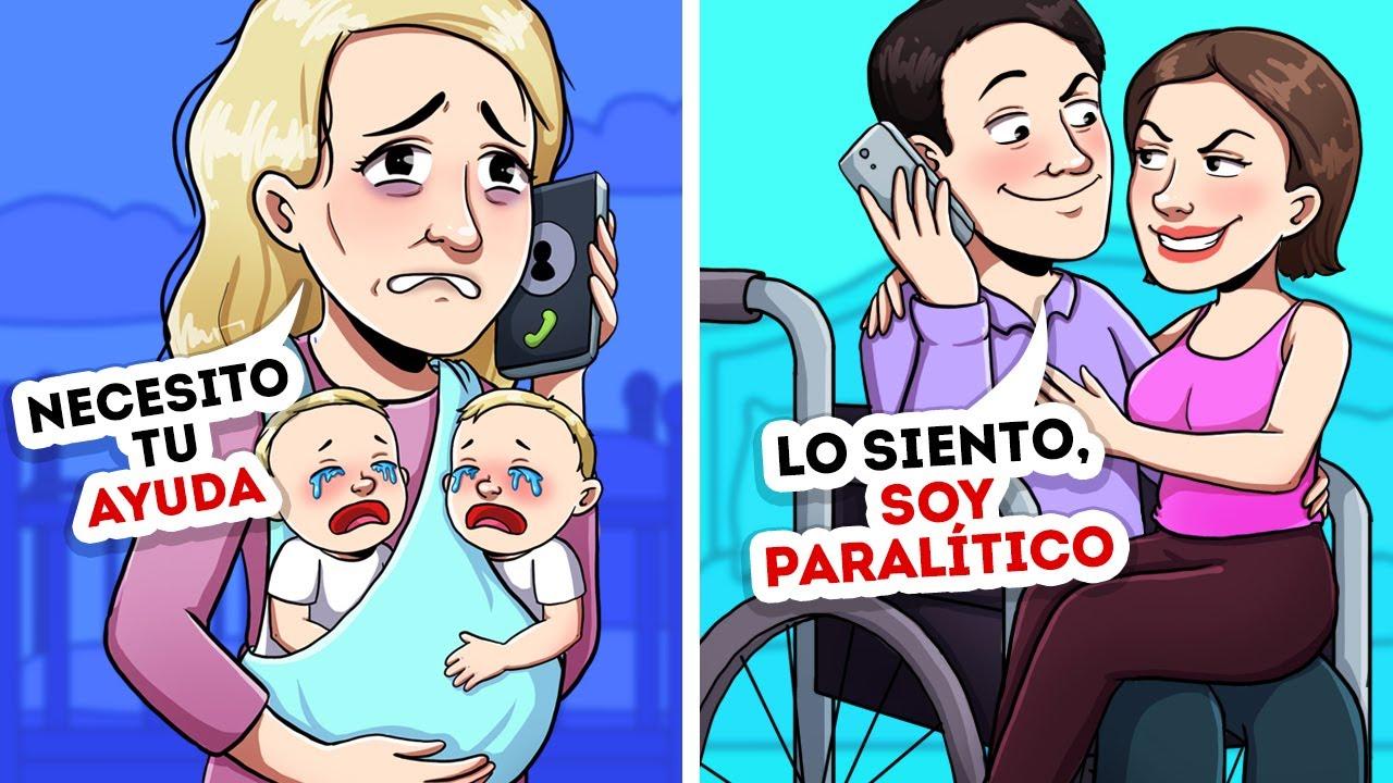 Descubrí el terrible secreto de mi esposo paralítico | Historia Animada