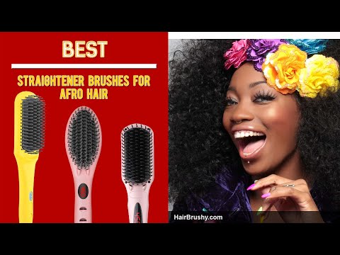 What Are The Best Straightening Brush For African-American Hair?