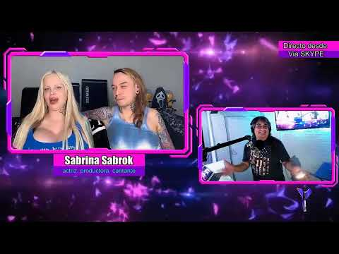 AREA ROCK - Entrevista A SABRINA SABROK - 22 MAYO 2019 - X LEVEL