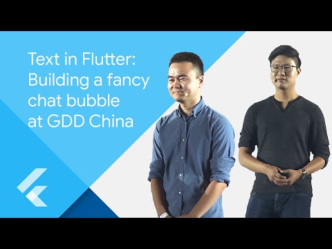 Text In Flutter: Building A Fancy Chat Bubble At GDD China