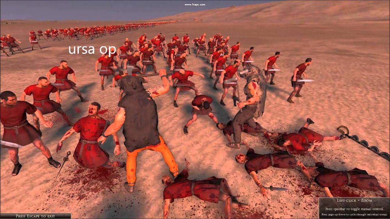 Total War Rome 2 Plebs Are Op Youtube