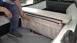 Мягкие сиденья на банки для лодок Polar Bird Merlin (Кречет).  Обзор