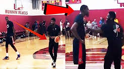Kyrie Irving teaches his SIGNATURE MOVES, but Kevin Durant refuses to follow