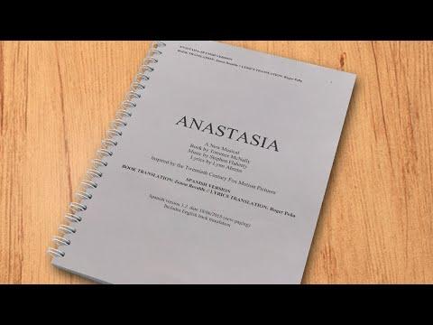 UNA ADAPTACIÓN ORIGINAL, EXTRAORDINARIA Y ÚNICA - Anastasia El Musical
