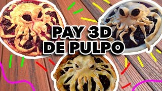 PAY 3D DE PULPO. EXPECTATIVA/REALIDAD