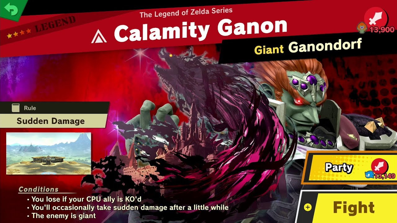 243 Calamity Ganon Fair Spirit Battle Super Smash Bros Ultimate