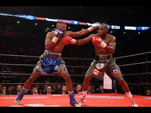 Adonis Stevenson Vs Badou Jack Full Fight Highlights