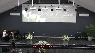 Funeral Service for Phyllis Wilson@Charlestown