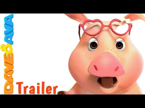🐖 This Little Piggy - Trailer | Nursery Rhymes and Baby Songs from Dave and Ava 🐖