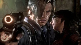 Resident Evil 6 Final Boss and Ending: Leon and Helena Campaign (HD)