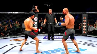 Bruce Lee vs. David Branch (EA Sports UFC 3) - K1 Rules