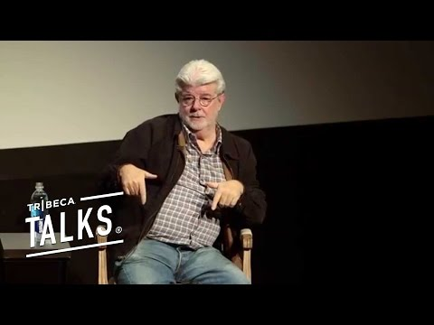 "George Lucas Speaks on ""The Force Awakens"""
