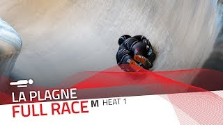 La Plagne | BMW IBSF World Cup 2019/2020 - Men's Skeleton Heat 1 | IBSF Official