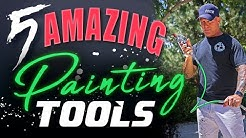 5 AMAZING Painters Tools!  Inventions Every Painter Needs.