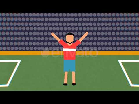 Flat Football Opener (Adobe Premiere CC Template)
