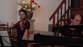 Schumann violin sonata no.2 op.121 (3/4 movements)