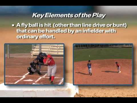 Infield Fly Rule Explanation