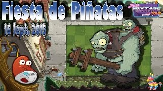 Plants Vs Zombies 2: Fiesta De Piñatas | Sept. 16 | Frijol (chili Bean) | Español - Hd