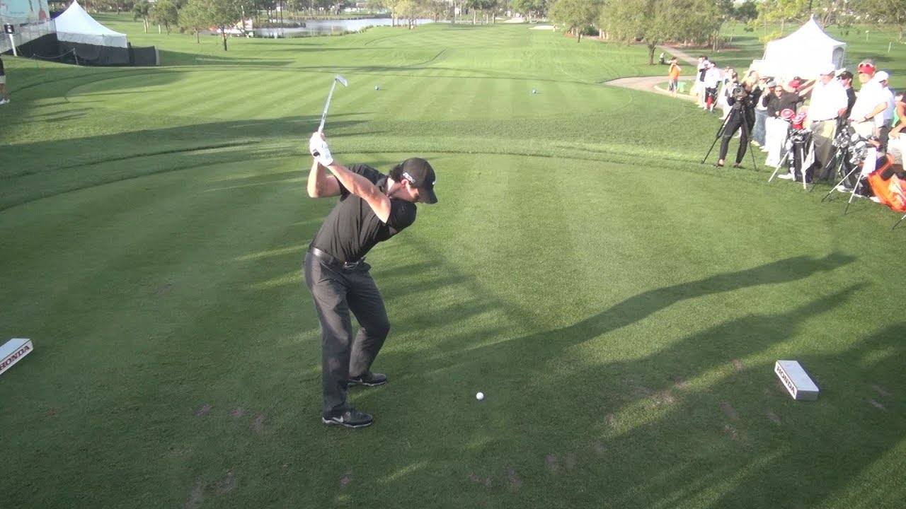 GOLF SWING 2013 - RORY MCILROY IRON DRIVE - ELEVATED DTL ...