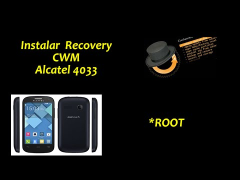 Instalar cwm recovery en Alcatel one touch pop c3 *ROOT* 2016