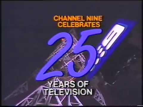 Brisbane TV 1984 - QTQ Channel 9 25th Birthday Celebration (Australia) - Vintage Bobby & Dawn