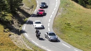 Supercar Fast Drive at the Spectacular Izoard Pass, France Alps. Audi TT Roadster