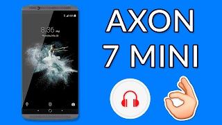 MOVIL ECONÓMICO CON MEJOR SONIDO - Review ZTE Axon 7 Mini