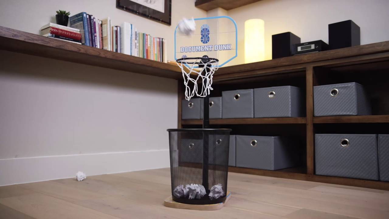 Superieur Document Dunk: The Trashcan Basketball Hoop For Office Allstars