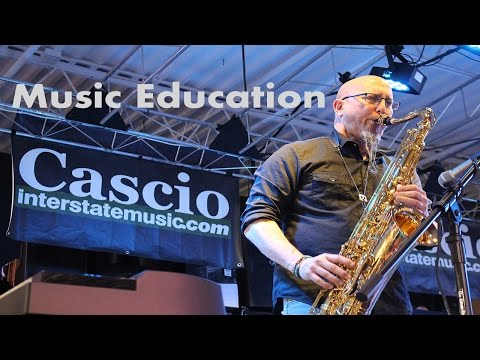 Jeff Coffin of Dave Matthews Band on Music Education | Cascio Interview
