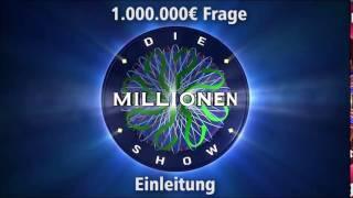 1.000.000€ Frage - Einleitung | Millionenshow Soundeffect
