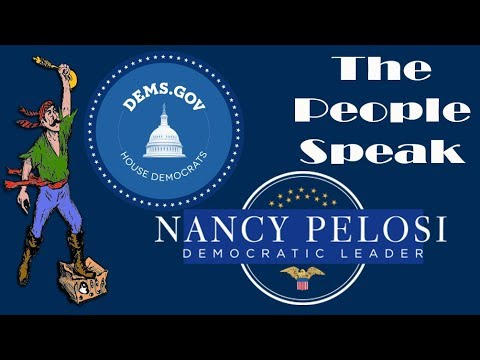 Nancy Pelosi - Live stream. Tell Nancy what you think. Democrats and Republicans Welcome
