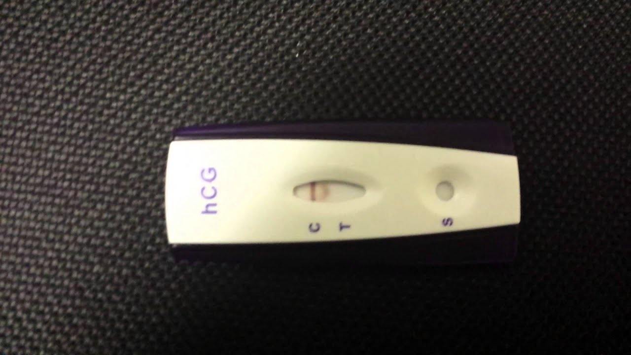 Positive Pregnancy Test or Evaporation Line?
