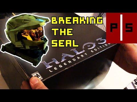 Halo 3 Legendary Edition | SEALED Unboxing | Master Chief's 11-Year Hybernation | Pixel Slayers 4K