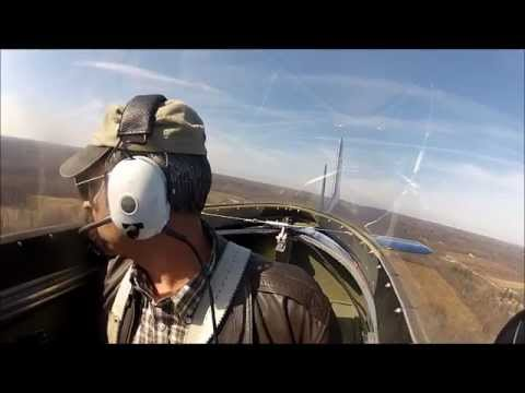 T-51 Mustang, factory tour and demo flight