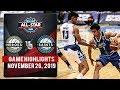 Heroes Vs. Saints  - November 26, 2019   Game Highlights   NCAA 95 All Stars MB