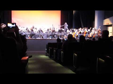 "San Leandro High School Concert Orchestra: ""Molly on the Shore"""